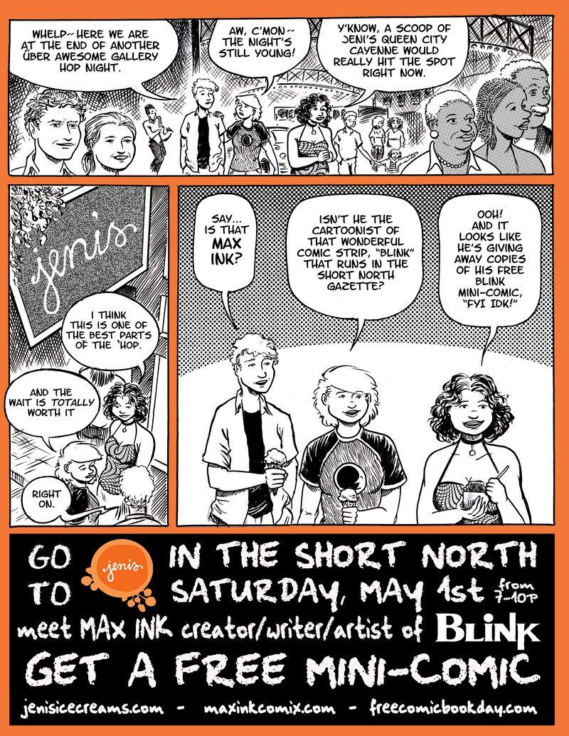 Jeni's Free Comic Book Day Promotional Sheet FINAL copy