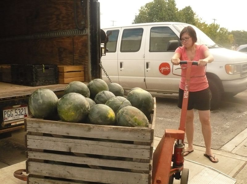 Jaime moore and wayward watermelons