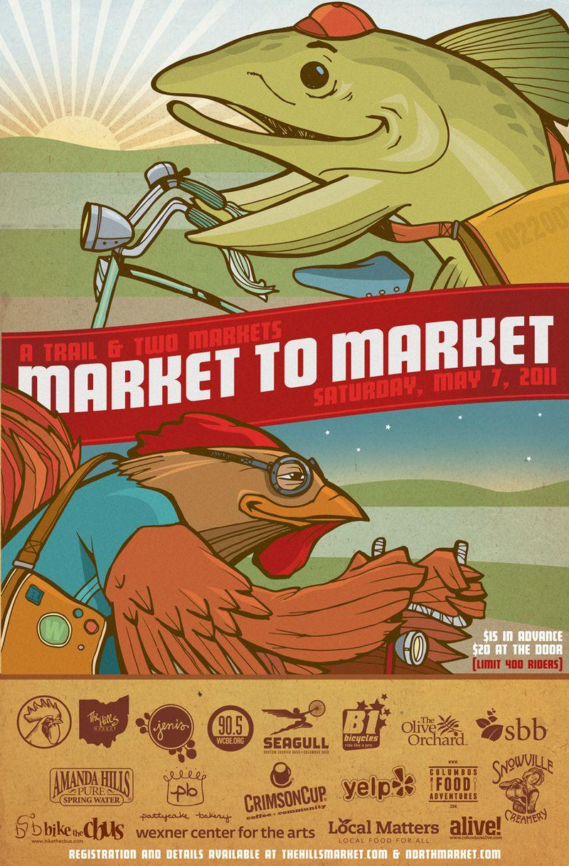 Market to market poster